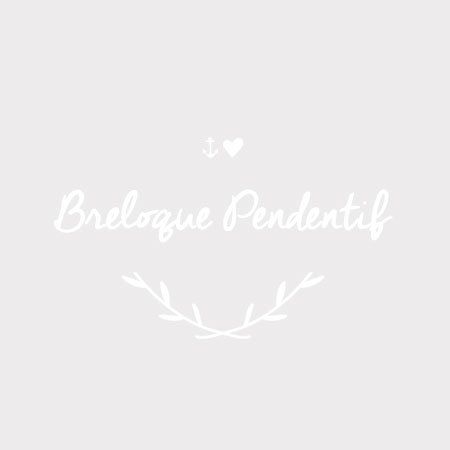 Breloque Broche Argent vieilli x 4