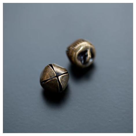 Breloque Grelot 12mm Bronze vieilli