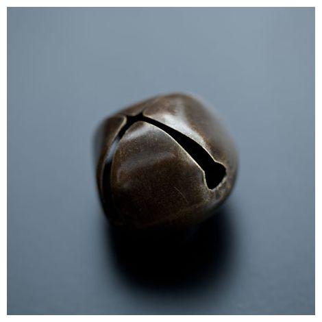 Breloque Grelot 25mm Bronze vieilli