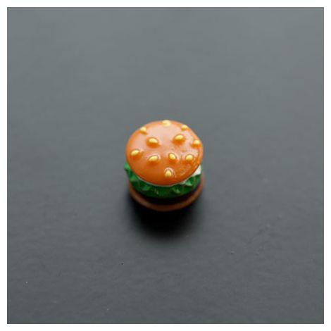 Cabochon en résine 12x10mm Hamburger