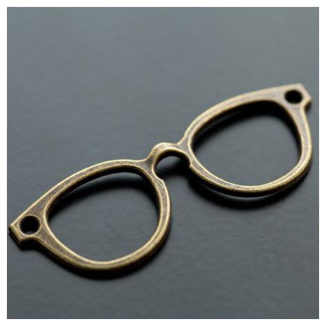 Connecteur Lunettes Intello Bronze vieilli