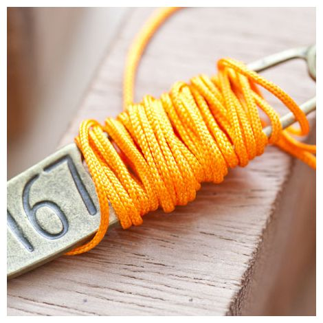 Cordon en nylon 1mm Orange
