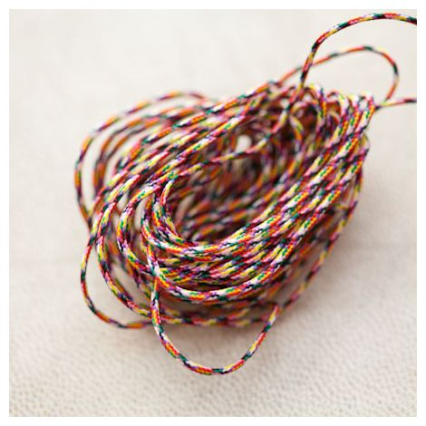 Cordon Nylon 0.8mm Multicolor