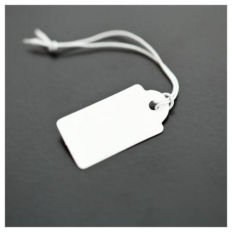 Etiquette Papier 27x13mm Blanc