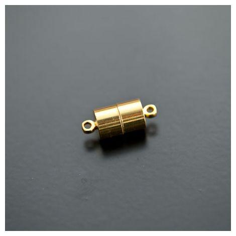 Fermoir Magnétique Tube 16mm Doré