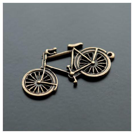 Pendentif Vélo Bronze vieilli