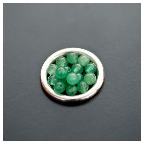 Perle en Jade 4mm Vert Amazonite