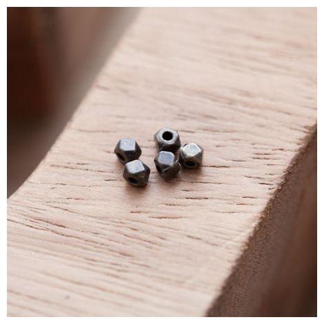 Perle en Métal Boulon 3mm Bronze vieilli
