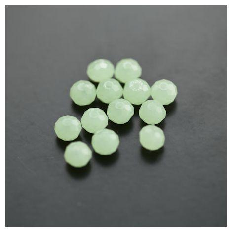 Perle en verre Boulier 6mm Vert Jade