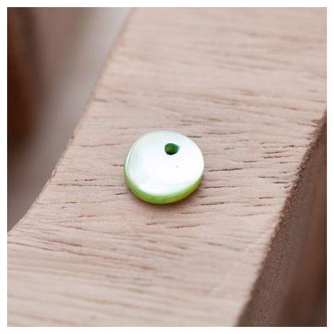 Sequin Nacre 10mm Vert clair