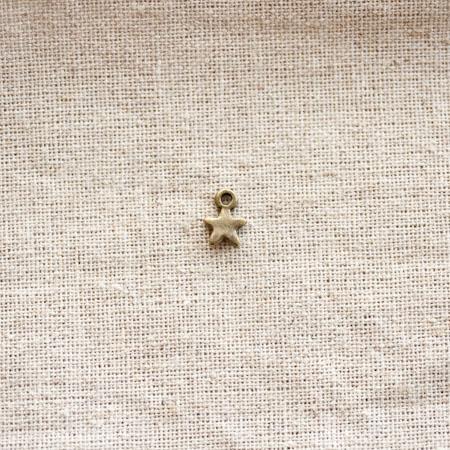 Breloque Petite étoile Bronze vieilli x 20