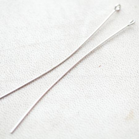 Clou à boucles 70mm Argent gris x 50