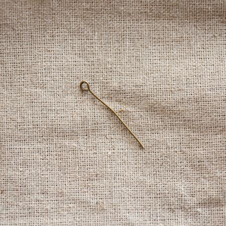 Clou à boucle 3,0cm Bronze vieilli x 30