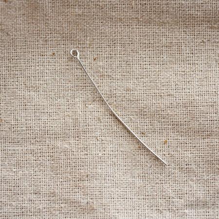 Clou à boucle 5,0cm Argent gris x 20