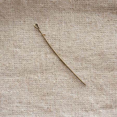 Clou à boucle 5,0cm Bronze vieilli x 20