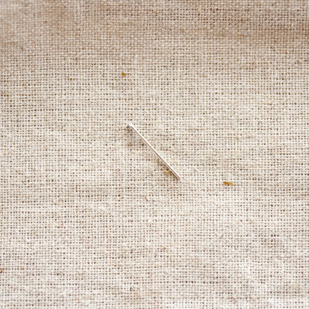 Clou à tête plate 1,8cm Argent x 30