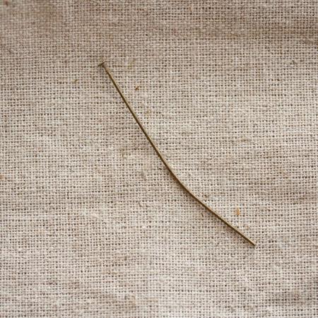 Clou à tête plate 5,0cm Bronze vieilli x 20