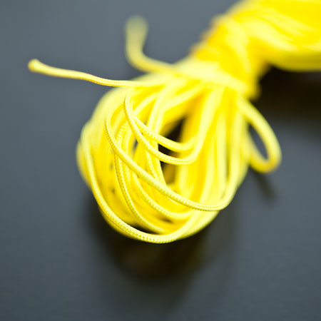 Cordon Nylon 1mm Jaune