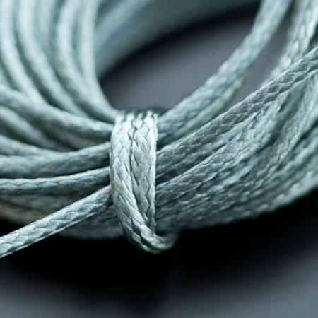 Cordon Polyester 0.5mm Bleu Eau