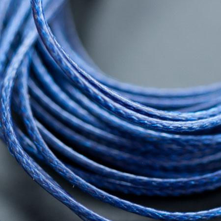 Cordon Polyester 0.5mm Bleu Foncé