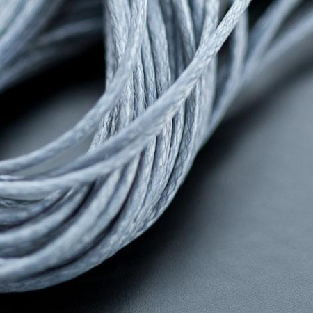 Cordon Polyester 0.5mm Gris foncé