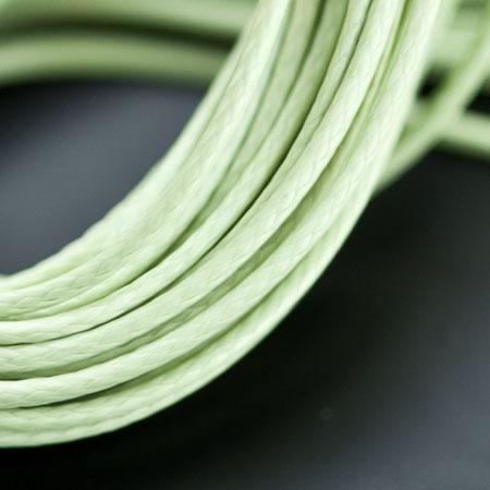 Cordon Polyester 0.5mm Vert clair