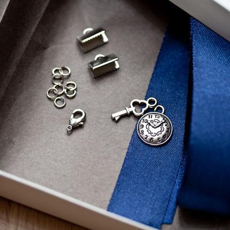 Kit création Bracelet Adesso Argent vieilli