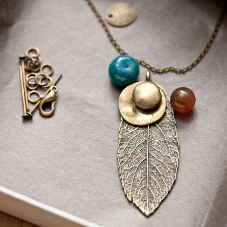 Kit création Collier Isabelle Bronze vieilli