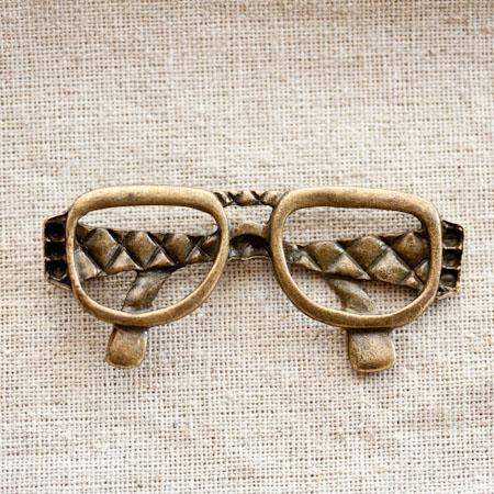Pendentif Grande lunette fashion x 1