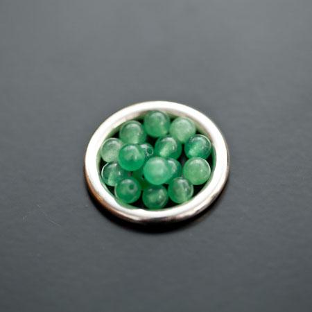 Perle en Jade 4mm Vert Amazonite x 20pcs