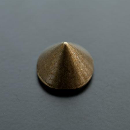 Perle en métal Connecteur Cône 21mm Bronze vieilli x 2