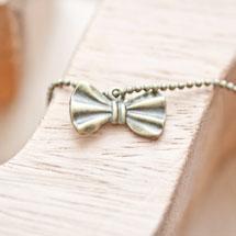 Breloque Petit noeud papillon Bronze vieilli x 5