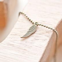 Breloque Petite aile Bronze vieilli x 20