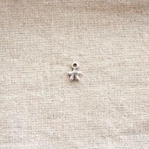 Breloque Petite étoile Argent vieilli x 20