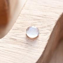 Cabochon en verre Rond 10mm Transparent x 4