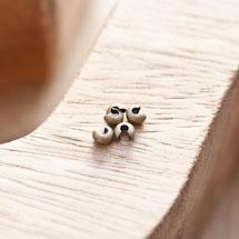 Cache perle à écraser 3mm Bronze vieilli x 20