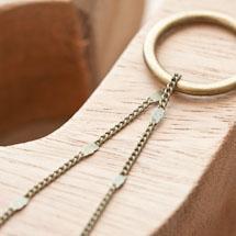 Chaîne à maillons 2x2mm Plaques Bronze vieilli en rouleau de 6m