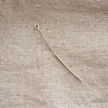 Clou à boucle 5.0cm Argent gris x 25