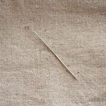 Clou à tête plate 5.0cm Argent gris x 25
