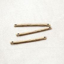 Connecteur Barre 33mm Plat Bronze vieilli x 6pcs