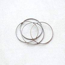 Connecteur Rond 20mm Bronze vieilli x 20