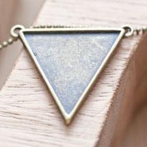 Connecteur Triangle Bronze vieilli x 3