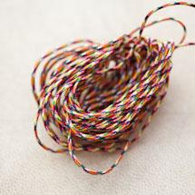 Cordon Nylon 0.8mm Multicolor x 3m