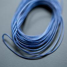 Cordon Polyester 0.5mm Bleu Foncé x 4m