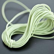 Cordon Polyester 0.5mm Vert clair x 4m