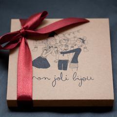 Box Mon Joli Bijou Doré 12 Mois / 15 Box + Kit de démarrage