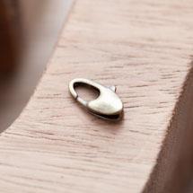 Fermoir Mousqueton 14x8mm Design Bronze vieilli x 3