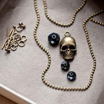 Kit création Collier Pirate Bronze vieilli