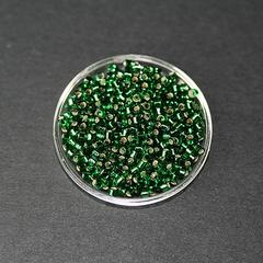 Perle japonaise Miyuki Delica 11/0 DB0148 Vert émeraude 5g