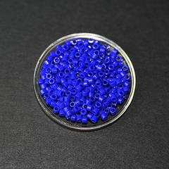 Perle japonaise Miyuki Delica 11/0 DB0726 Bleu roi 5g